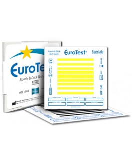 EuroTest Bowie and Dick Test-pack